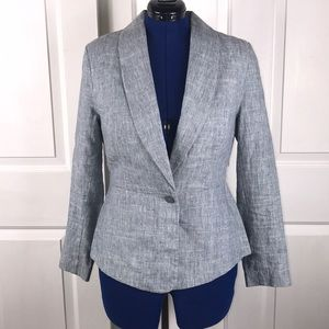 """CAbi 12 linen blend jacket """"Beachwalk"""" blazer"""